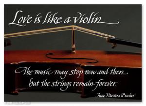 Love Quotes Like Violin Punjabigraphics