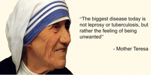 mother teresa quotes about leprosy