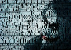 Batman (The Dark Knight): The Joker (Heath Ledger) Quote Film/Movie ...