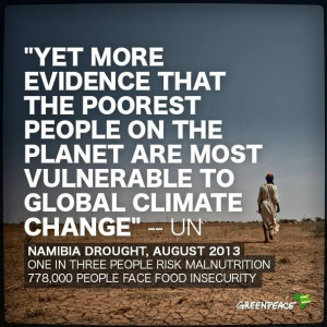 : While the president of Namibia draws links between climate change ...