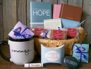 courage gift basket hope to cherish a desire with anticipation courage ...