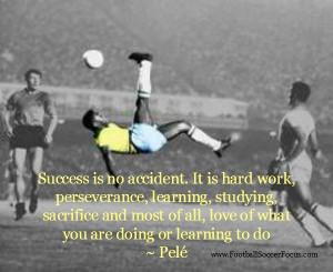 soccer quotes pele