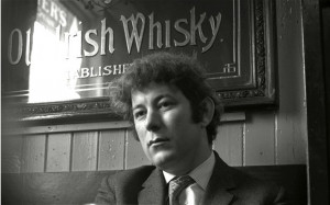 Seamus Heaney in 1970 Photo: ITV/Rex Features