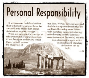 Personal Responsibility quote #2