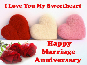 Happy wedding anniversary wishes to my wife with pictures & Images