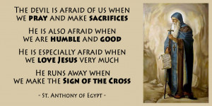 St Anthony of Egypt Quotes - KWI