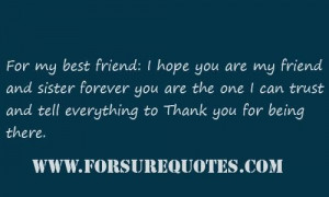 hope you are my friend forever sayings image quotes