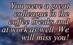 Funny Goodbye Work Quotes Goodbye colleagues funny and