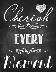 Let's Cherish Every Moment in 2014! graphic from One Good Thing By ...