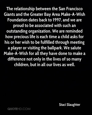 The relationship between the San Francisco Giants and the Greater Bay ...