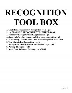 RECOGNITION TOOL BOX by lonyoo