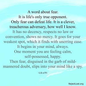 fear quotes about overcoming fear fear quote you must do