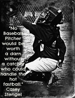 Baseball Catcher Quotes