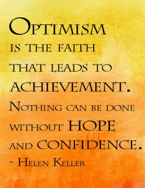 Trust Quotes: Helen Keller Quote