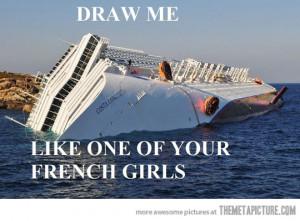 Funny photos funny sinking ship sea joke
