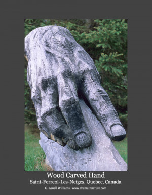 hand wood carving