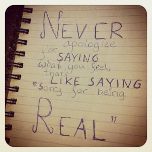 apologize, book, diary, quote, real, text, truth, vise