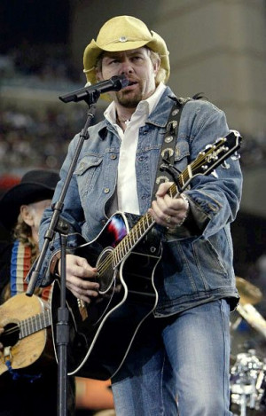 Favorite country singer ever is Toby Keith Toby Keith, Favorit Singers ...