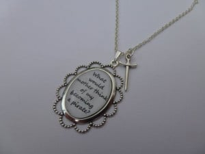 Peter Pan Wendy's What Would Mother Think Quote by allthingsyummy, $18 ...
