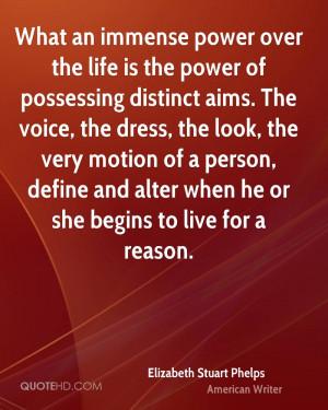 Elizabeth Stuart Phelps Life Quotes