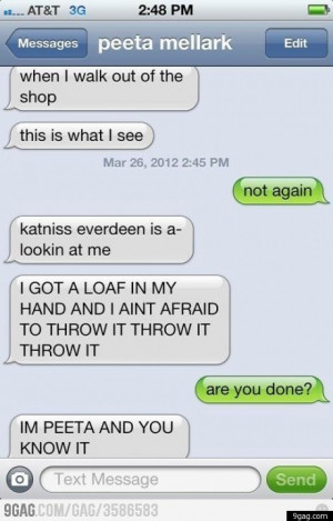 Viral 'Hunger Games' Meme: 'I'm Peeta And You Know It'