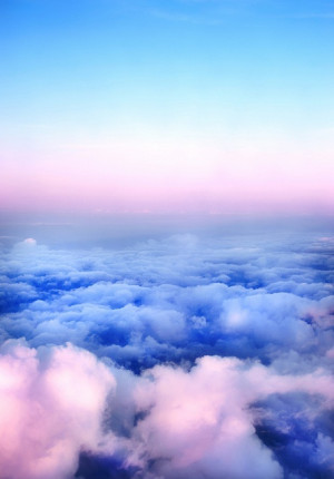 above the clouds, love