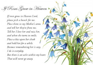 Details about A5 Sympathy Memorial Bereavement Grave Card Mum Mother