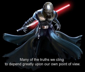 Movie, star wars, quotes, sayings, truths, point of view