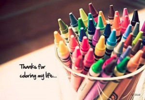 colors, colouring, colours, crayons, happy, life