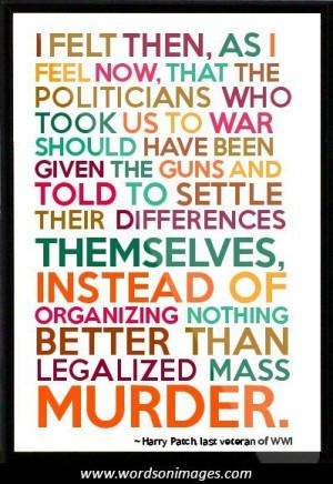 Anti war quotes