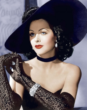 Hedy Lamarr first married to her first husband, Fritz Mandal (also ...