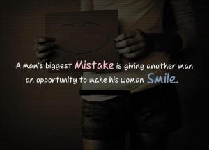 man biggest mistake