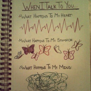 butterflies in my stomach | Tumblr | We Heart It