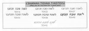 ... choose to add any one of these Hebrew Sentiments to your inscription