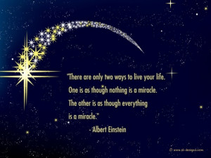 Life quotes the picture of the stars in the sky with encouraging quote ...