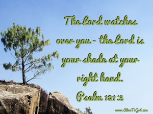 Can you picture God watching over you? He is your keeper, your ...