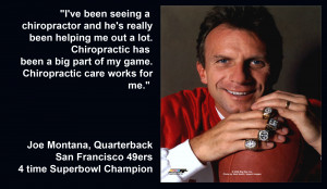 Joe Montana, Hall of Fame Quarterback and 4-time Super Bowl Champ