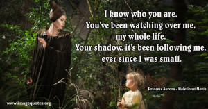 To the Maleficent in all of Us