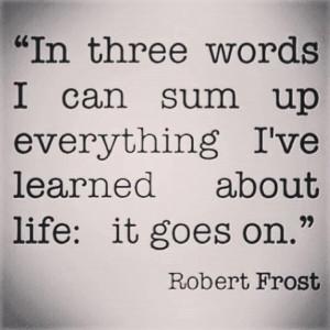 Robert Frost #Quote