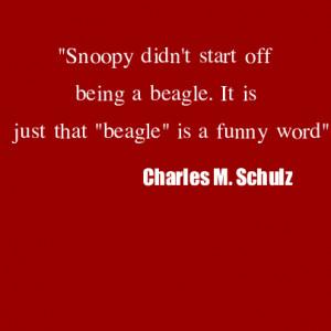 Beagle Quote