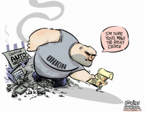 Like the media, America's labor unions have by and large lost all ...