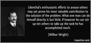 More Wilbur Wright Quotes