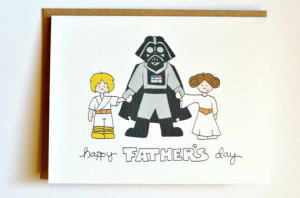 Custom Star Wars Father's Day Card ($4)