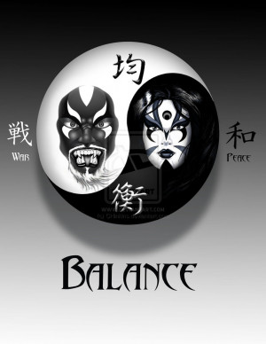 Balance: Yin and Yang by CHinkins