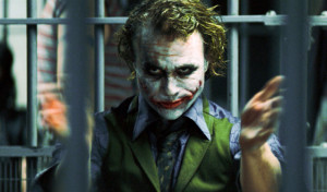 We would like to give a round of applause to Heath Ledger's portrayal ...