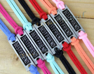 Simple clear Best friend bracelet,G oose down line bracelet, color can ...