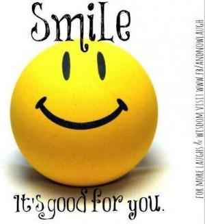 Smile quote via www.Facebook.com/AndNowLaugh