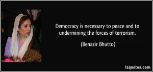 More Benazir Bhutto Quotes
