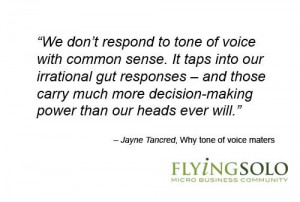 In conversation, using the right tone of voice is second nature, but ...