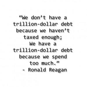 Great Ronald Reagan quote